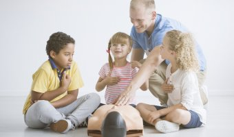 Teaching Kids Basic First Aid