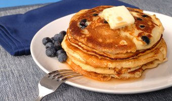 Start a New Weekend Tradition: Lemon Blueberry Pancakes